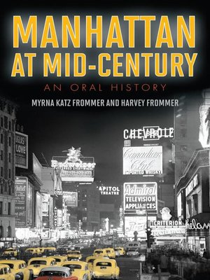 cover image of Manhattan at Mid-Century