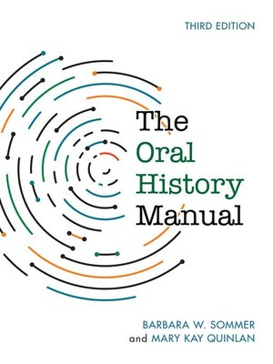 cover image of The Oral History Manual