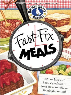 cover image of Fast-Fix Meals