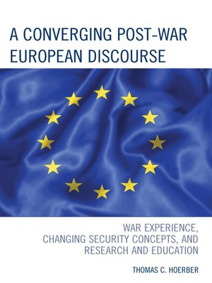 cover image of A Converging Post-War European Discourse