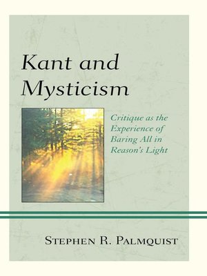 cover image of Kant and Mysticism