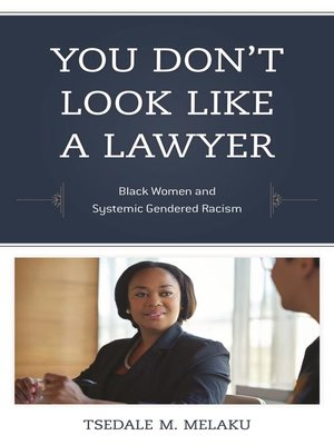 cover image of You Don't Look Like a Lawyer