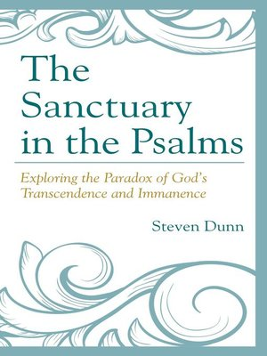 cover image of The Sanctuary in the Psalms