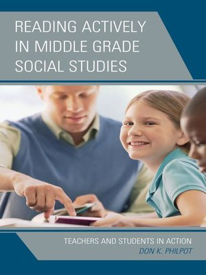 cover image of Reading Actively in Middle Grade Social Studies