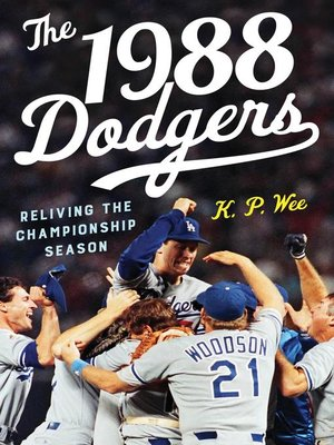 cover image of The 1988 Dodgers