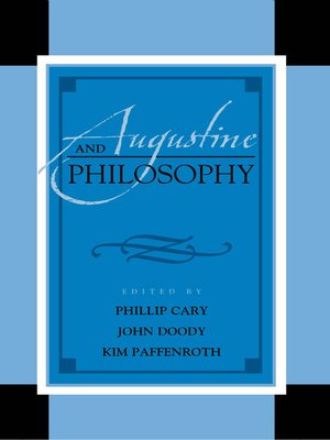 cover image of Augustine and Philosophy