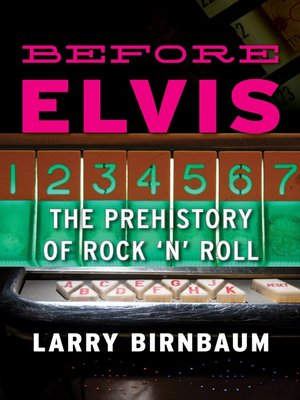 cover image of Before Elvis