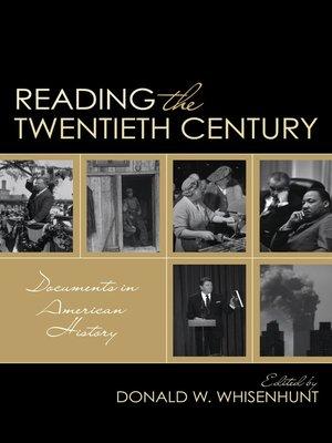 cover image of Reading the Twentieth Century