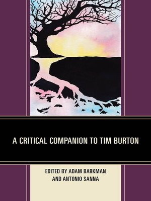 cover image of A Critical Companion to Tim Burton