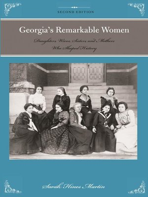 cover image of Georgia's Remarkable Women