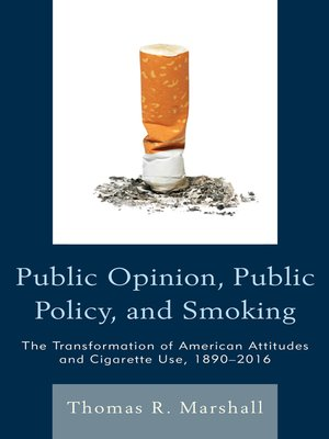 cover image of Public Opinion, Public Policy, and Smoking
