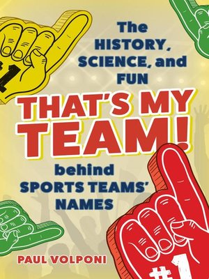 cover image of That's My Team!