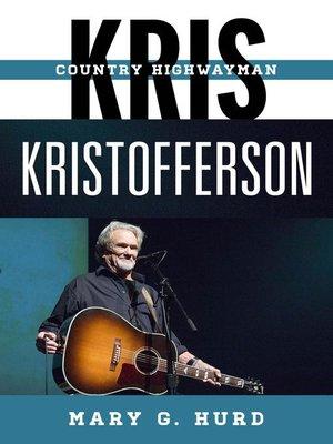 cover image of Kris Kristofferson