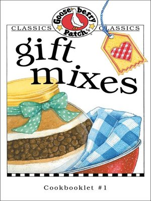 cover image of Gift Mixes Cookbook