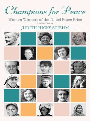 cover image of Champions for Peace