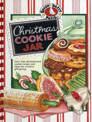 cover image of Christmas Cookie Jar Cookbook