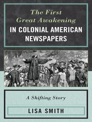 cover image of The First Great Awakening in Colonial American Newspapers
