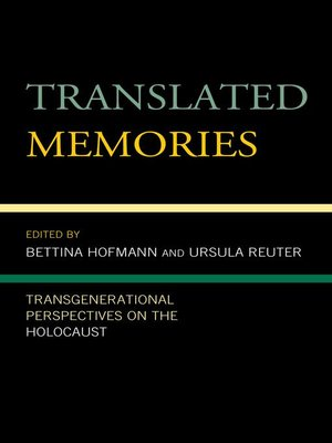 cover image of Translated Memories