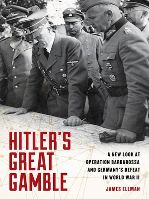 cover image of Hitler's Great Gamble