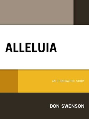 cover image of Alleluia