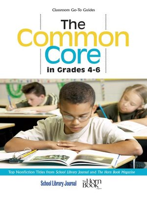 cover image of The Common Core in Grades 4-6