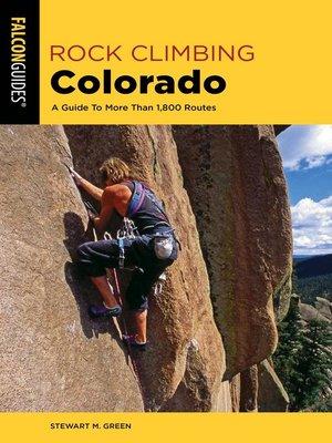 cover image of Rock Climbing Colorado