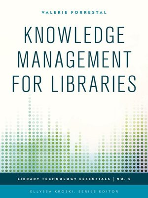 cover image of Knowledge Management for Libraries