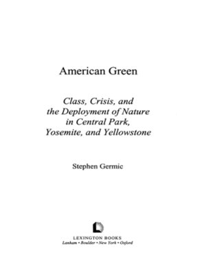 cover image of American Green