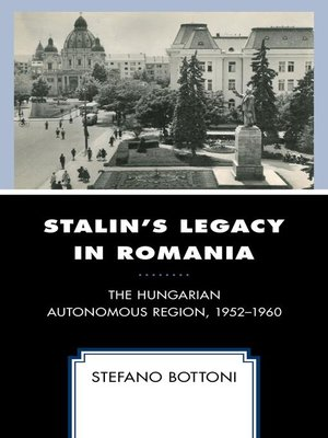 cover image of Stalin's Legacy in Romania