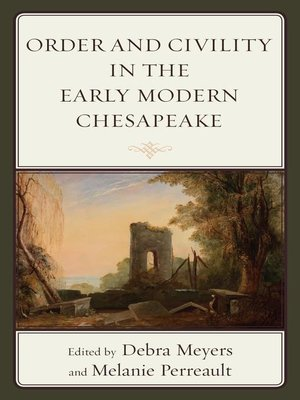 cover image of Order and Civility in the Early Modern Chesapeake