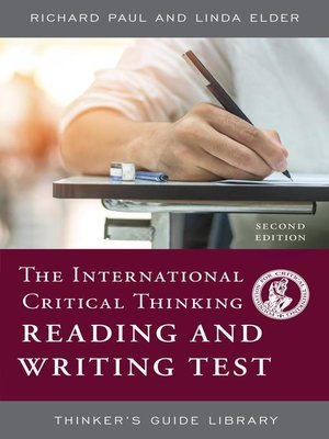 cover image of The International Critical Thinking Reading and Writing Test