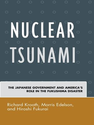 cover image of Nuclear Tsunami