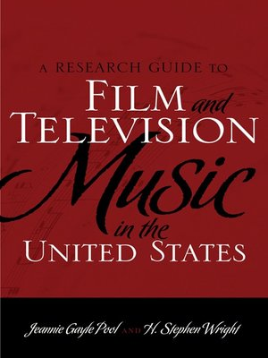 cover image of A Research Guide to Film and Television Music in the United States