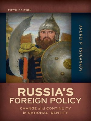 cover image of Russia's Foreign Policy