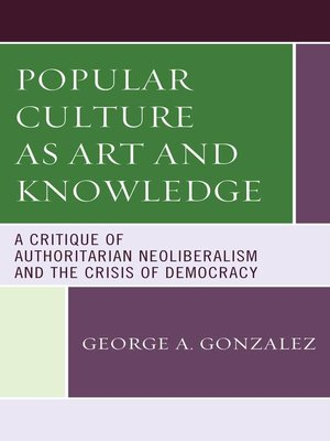 cover image of Popular Culture as Art and Knowledge