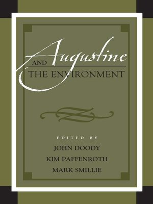 cover image of Augustine and the Environment