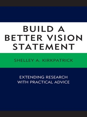 cover image of Build a Better Vision Statement