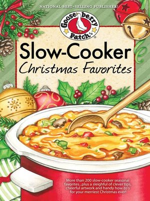 cover image of Slow-Cooker Christmas Favorites