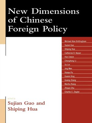 cover image of New Dimensions of Chinese Foreign Policy