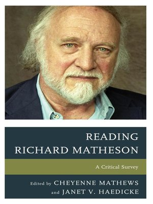 cover image of Reading Richard Matheson