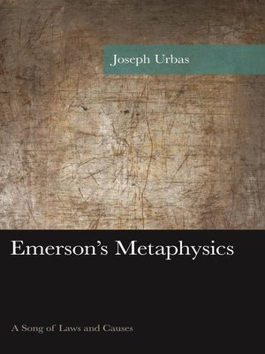cover image of Emerson's Metaphysics