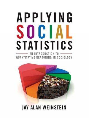 cover image of Applying Social Statistics