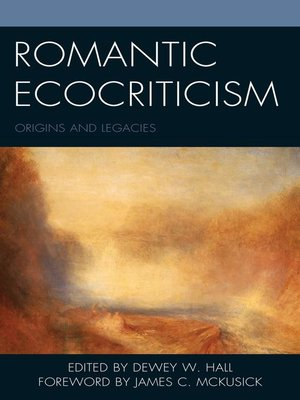 cover image of Romantic Ecocriticism