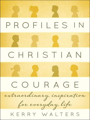 cover image of Profiles in Christian Courage
