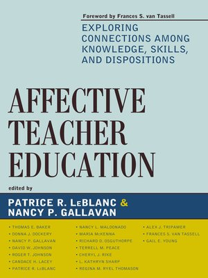 cover image of Affective Teacher Education