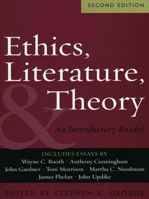 cover image of Ethics, Literature, and Theory