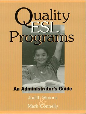 cover image of Quality ESL Programs