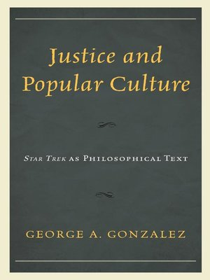 cover image of Justice and Popular Culture