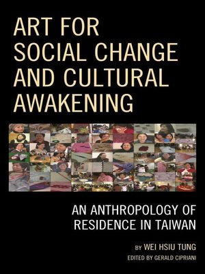 cover image of Art for Social Change and Cultural Awakening