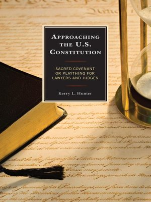 cover image of Approaching the U.S. Constitution